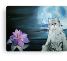 Zen Kitty Canvas Print