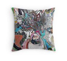 collaboration (X) Throw Pillow