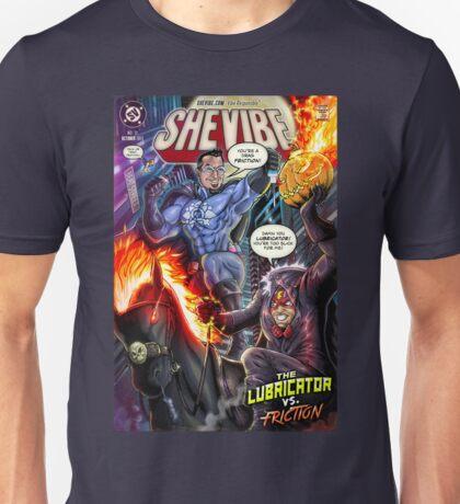 SheVibe Presents - Dean Elliott, The Sliquid Lubricator Cover Art Unisex T-Shirt
