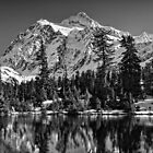 Mt. Baker Mono Splendor by Tom Davidson