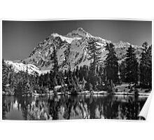 Mt. Baker Mono Splendor Poster