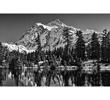 Mt. Baker Mono Splendor Photographic Print