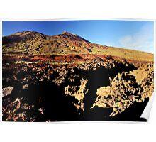Teide Summit. Poster