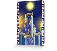 JoJo's Bizarre Adventure: Jonathan Joestar Greeting Card
