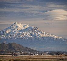 Mount Shasta California by Tom Davidson