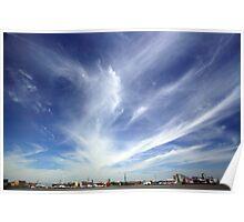 Greenwich Peninsula Cloudscape Poster