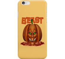 Manic Pumpkins .. Beast iPhone Case/Skin