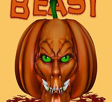 Manic Pumpkins .. Beast by LoneAngel