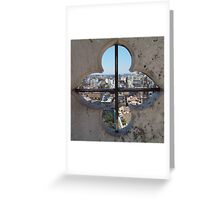 Cathedral view Greeting Card