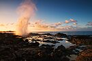 Spouting Horn Sunrise by Flux Photography
