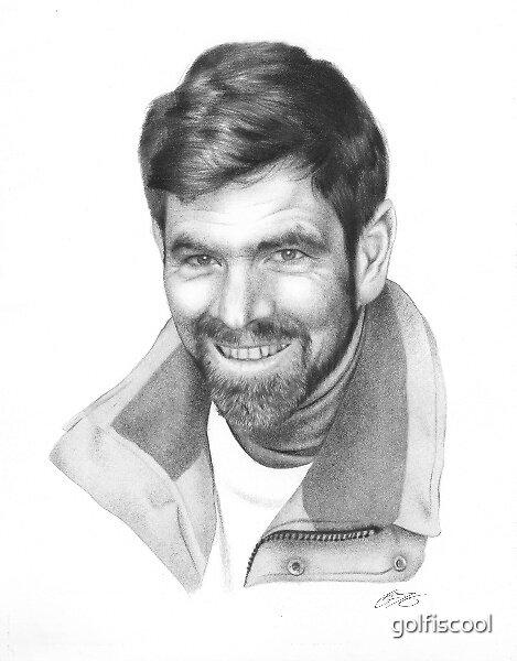 Mark Rudiger Portrait  by golfiscool
