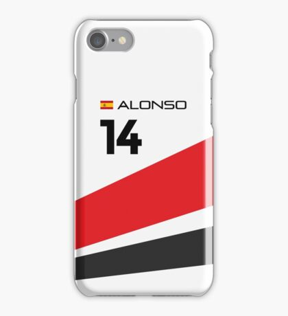 F1 2015 - #14 Alonso [alternative version] iPhone Case/Skin