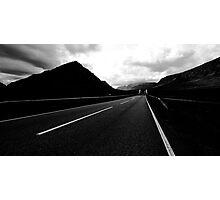 The Road to Glencoe Photographic Print