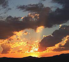 Sonsondergang – Jansenville – Sunset by Rina Greeff