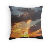Sonsondergang – Jansenville – Sunset Throw Pillow