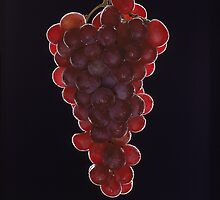 red grapes  by atlasphoto