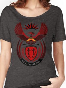 South African Coat of Arms Women's Relaxed Fit T-Shirt