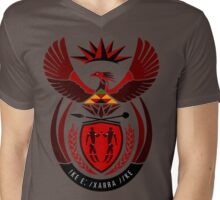South African Coat of Arms Mens V-Neck T-Shirt