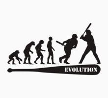 Baseball Evolution Kids Clothes