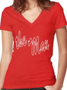 The Max Women's Fitted V-Neck T-Shirt