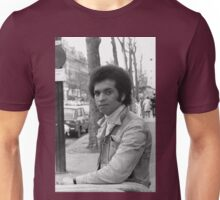 Collector, On the Way to M.Cartier Bresson Paris 1975 25 (b&n)(t) by Olao-Olavia par Okaio Création Unisex T-Shirt