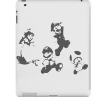 Super Mario 3D World - Minimalistic Press Print iPad Case/Skin