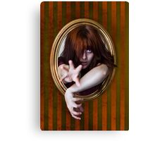 I Want Out! - Trophy Wall Redhead Canvas Print