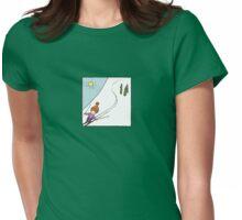 Ski Fun Womens Fitted T-Shirt