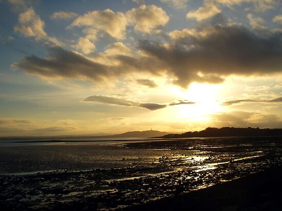 Strangford Sunset by oulgundog