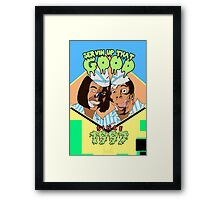 Home of the Good Burger Framed Print