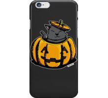 Cute Pumpkin Cat Halloween iPhone Case/Skin