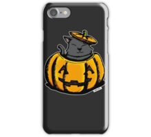 Cute Pumpkin Cat Halloween iPhone Case/Skin