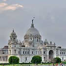Victoria Memorial Hall, Calcutta, Kolkata by srijanrc
