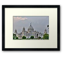 Victoria Memorial Hall, Calcutta, Kolkata Framed Print