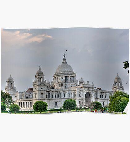 Victoria Memorial Hall, Calcutta, Kolkata Poster