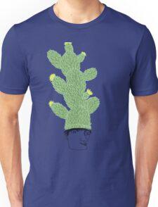 Cactus Hat Hipster Street Wear T-Shirt