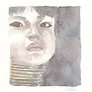 girl with neck rings by vimasi