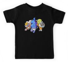 Crowne Beasts- Shiny Entei, Raikou, Suicune Kids Tee