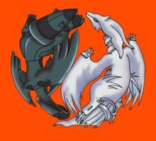 Pokemon YinYang- Reshiram and Zekrom Kids Tee