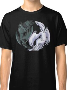 Pokemon YinYang- Reshiram and Zekrom Classic T-Shirt