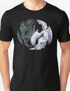 Pokemon YinYang- Reshiram and Zekrom Unisex T-Shirt