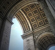 Paris and the Arch de Tr. by Tom Davidson