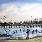 Summer - Altona Beach by Karin Zeller