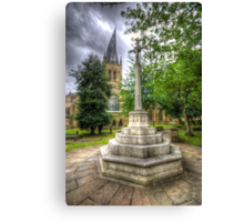 Church Of The Crooked Spire   Canvas Print