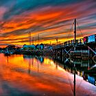Stage Harbor Chatham  by Trevor Murphy