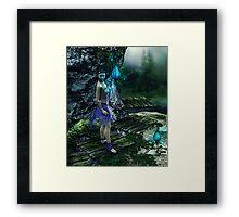The Lantern Framed Print
