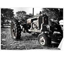 Rusted Tractor Poster