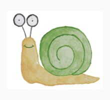Watercolour Snail - Well Done You Snailed It Kids Clothes