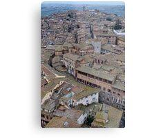 Siena Rooftops Metal Print