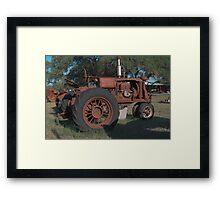Old Faithful - HDR Framed Print